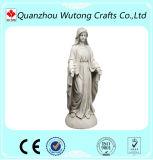 Amar as pessoas mulher Maria Estátua Material Polyresin decoração de jardim