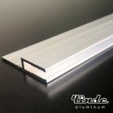 Perfil de extrusão de alumínio / perfil de alumínio extrudado com serra de areia pequena