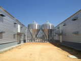 Гальванизированный Prefab амбар стальной рамки для расти цыпленка