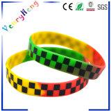 Wristband variopinto promozionale della gomma di silicone per i regali
