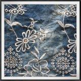 Связывать-Покрашенная вышивка цветка ткани вышивки отверстии вышивки сплетенная тканью