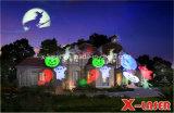 سكنيّة عطلة ضوء [لد] إحياء ضوء مهرجان إنارة عيد ميلاد المسيح [هلّووين] إنارة