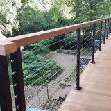 Het beste Verkopende Traliewerk van het Dek van het Roestvrij staal van de Ontwerpen van de Grill van het Balkon van het Roestvrij staal