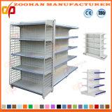 Nuova scaffalatura laterale fissa personalizzata del supermercato del metallo doppia (Zhs500)