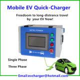 휴대용 EV는 충전기 Chademo와 CCS 기준 단식한다
