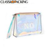 Настраиваемые прозрачный водонепроницаемый пластиковый мешок для Косметического слоя ПВХ поездки