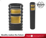 Absaugung-u. Einleitung-Schlauch mit Textilflechten und Draht verstärkten