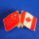 Vlag de van het Kenteken van de Vlag van het email Chinese en Canadese, (gzhy-lp-019)