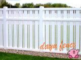 Clôtures de jardin en PVC post en plastique