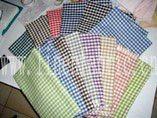 Garen-geverfd linnen stof -5
