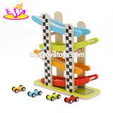 Neues heißestes Schlitz-Laufenhölzernes Minischnellfahren-Auto für Kinder W04e059