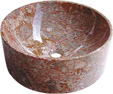 Bassin d'Onyx/de marbre de salle de bains de pierre de bassin