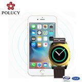 2016 الهاتف الخليوي أزياء المحمول الجيل الثالث 3G سيليكون ساعة ذكية مع بطاقة SIM