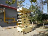 電気可動装置は高い場所のための作業プラットホームを切る
