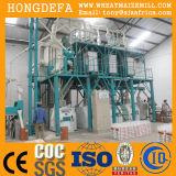 Machine de moulin à farine de maïs de la Zambie 50t, usine de fraisage de repas de maïs
