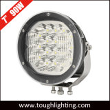 EMCは7インチ8100lm 90Wのクリー族LEDのオフロード4X4作業ドライビング・ライトを承認した