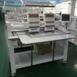 Kundenspezifische neue 2 Kopf computergesteuerte Schutzkappen-Stickerei-Maschine