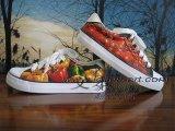 Handgeschilderde schoenen van hoge kwaliteit