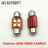 Lámpara auto de Canbus del adorno de la luz de bulbo 12V-24V para la lectura del coche