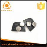 M6 스레드 2 디스크가 둥근 다이아몬드 Lavina 지면 분쇄기에 의하여 구두를 신긴다