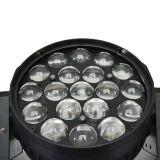 Éclairage principal mobile du professionnel 19PCS*10W DEL pour la disco d'étape