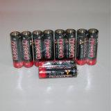 1.5V AA R6p Superaufgaben-Kohlenstoff-Zink-trockene Batterie