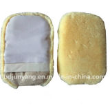 100% Nature Merino Wool Wash Mitt