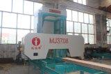 De draagbare Horizontale Machine van de Zaagmolen van de Band met Dieselmotor/de Mobiele Zaagmolen van de Band
