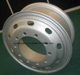 Borda de alumínio de aço da roda do caminhão