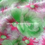 75D Tissu imprimé de polyester Georgette robe
