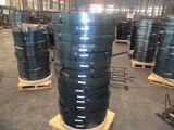 鋼鉄ストリップ: 塗られた鋼鉄ストリップ(緑、黒)
