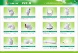 Cotovelo plástico do PVC de China com bronze