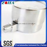 40 H2O van de Micro- van de Capsule van het Geval van het Staal Kpa/4000mm Diameter 63mm/75mm Manometers van de Druk