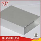 6063-T5 까만 모래 분사에 의하여 양극 처리된 LED 알루미늄은 짜맞춘다 단면도 (A74)를