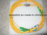 Fibra nuda 2.0mm di Wdm del filtro da ottica delle fibre di telecomunicazione 1.5m