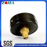 Manómetro geral de montagem traseira com 4 polegadas de diâmetro 0,16 MPa de pressão