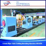 Высокоскоростное численное вырезывание плазмы CNC управлением 8 осей и скашивая машина для трубы Tubekr-Xf8