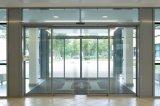 Automatische Wohnschiebetür mit silberner Farbe
