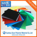 Feuille de PVC rigide transparent de couleur Film