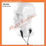 Écouteur audio à air pulsé à deux voies pour Motorola Dp2400 / Dp2600 Radios