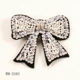 Bijoux de mode, broche de fleur, broche en métal (WM-3163)