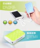 Cargador de la emergencia del teléfono móvil, banco móvil de la energía del tubo del metal (OM-PW025)