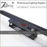RGBWA colorea la iluminación del estudio de la barra DMX del LED (ningún ruido)