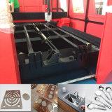 Máquina de estaca do laser da fibra para o aço inoxidável de aço de carbono com fonte de laser de Ipg