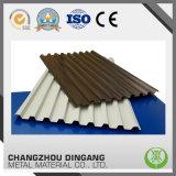 Металл изолированный жарой настилая крышу составная сталь