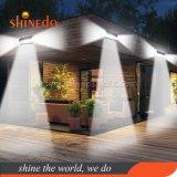 196 Sensor Solar LED luz de parede para jardim, garagem, Pátio, Home