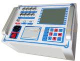 Analizzatore di velocità di scatto a tempo dell'analizzatore di interruttori automatici ad alta tensione del gruppo di comando Set di prova