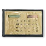 Солнечный чалькулятор размера кредитной карточки 8 чисел с подгонянным логосом