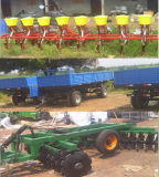 80HP Tractor van Foton van het 100HP de Vierwielige LandbouwLandbouwbedrijf 120HP 150HP met de Aanhangwagen van de Cabine van a/c