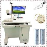 50W de Laser die van de vezel Scherpe Machine voor de Verwerking van Metalen merken